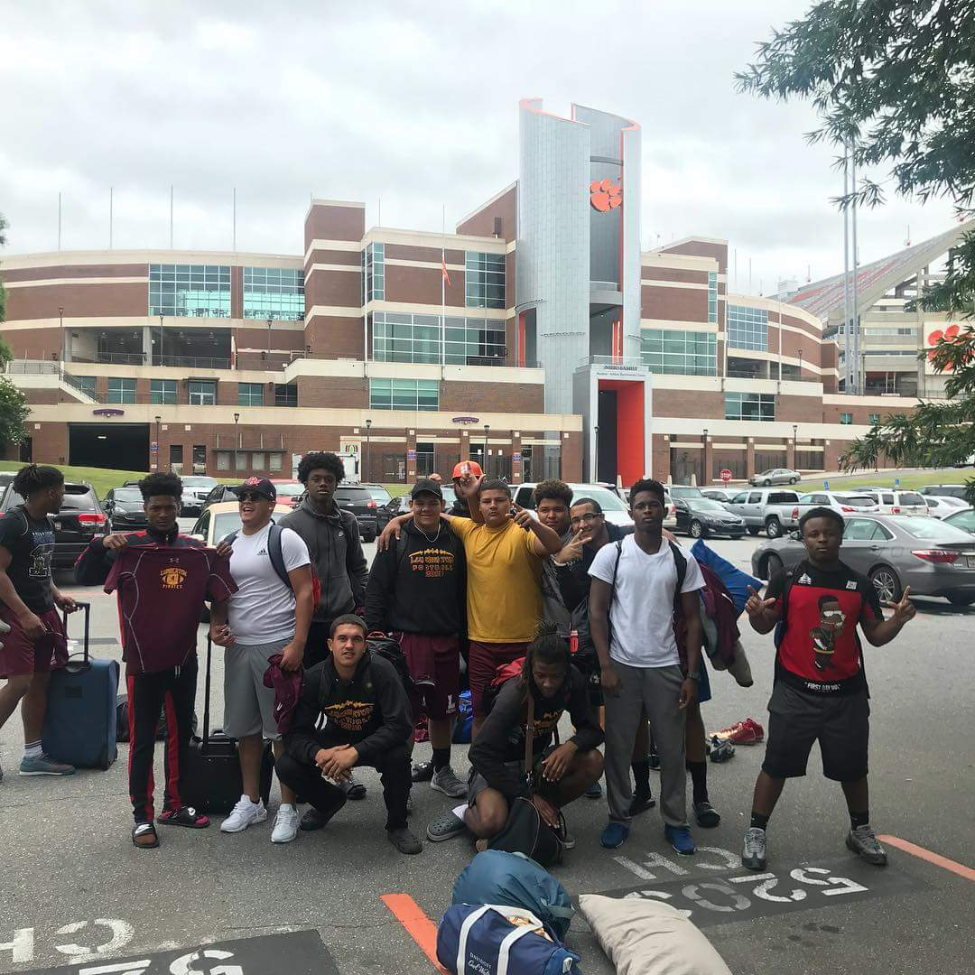 Pirates Attend 3 Day Clemson Camp