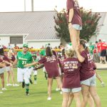 Pirate Cheerleaders Welcome Dixie Youth World Series