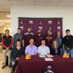 The Robesonian's Coverage of Ledwell's Signing Day (1st to sign to play D1 baseball since Odum in '15)