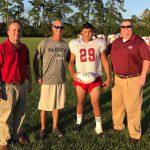 Brooks Named Farm Bureau Player of the Game (vs West Brunswick)