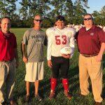 Hammonds Named Farm Bureau Player of the Game (vs Jack Britt)