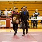 Pirate Wrestling vs Cleveland High (Senior Night Class of 2019)