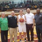 Canady Recognized for 1000th Rebound