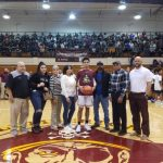 McNeill Honored for 1000th Point