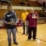 Pirate Wrestler Tray Regan Honored