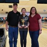 Sophomore Newberry wins State Bowling Championship