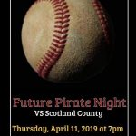 Baseball/Softball Future Pirate Night