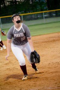 Pirate Softball vs Purnell Swett (Photos)