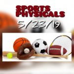Sports Physicals 5/23/19