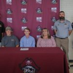 Coverage of Bruce's Signing Day by The Robesonian