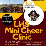 LHS Cheer Clinic Ages 4-14