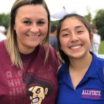 Yesenia Velazquez Representing the East at the East – West All-star Games (Photos and Video)