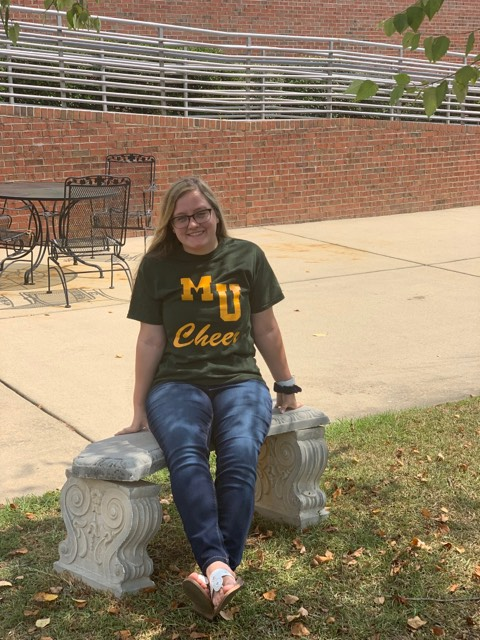 College Brings New Beginnings, New Friends, and a Cheer Uniform for Pirate Graduate Haley Hodge