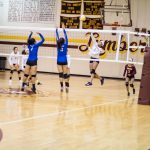 Lady Pirate Varsity Volleyball  vs St. Pauls (Photos 8/20/19)