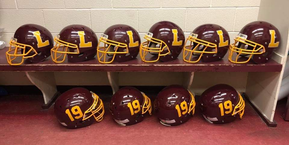 Purchase a Football Helmet and Support Pirate Athletics