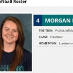 Morgan Britt on the UNCW Softball Roster