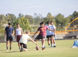 Random Photos of Pirate Student-Athletes after School Friday