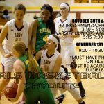 Girls Pirate Basketball Tryout Dates Announced