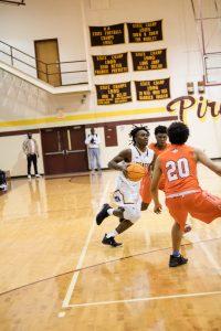 Boys Varsity Pirate Basketball vs New Hanover (Album 2 of 2)