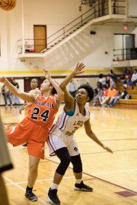 JV Girls Basketball vs New Hanover