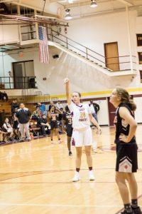 Varsity Lady Pirate Basketball Versus New Hanover