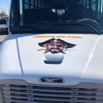 Here Come the Pirates! Fresh New Look for Activity Buses