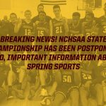 Breaking News Concerning State Championship and Spring Sports