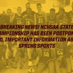 State Basketball Championship Postponed and Spring Sports Suspended Until Further Notice