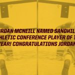 McNeill Named Sandhills Athletic Conference Player of the Year