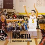 MCNEILL NAMED TO HIGH SCHOOL OT ALL-EAST TEAM