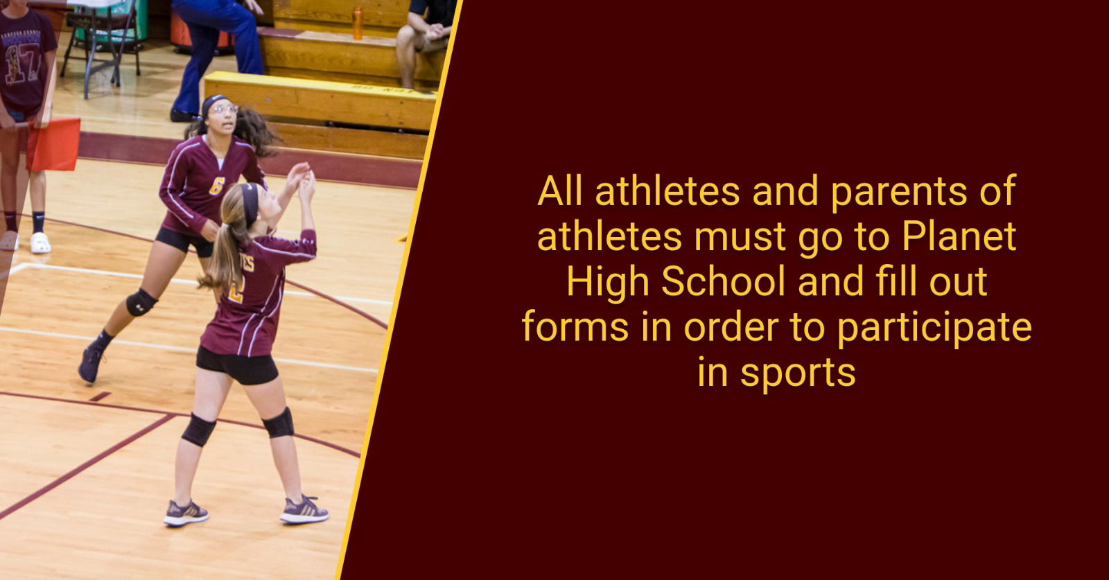 ATTENTION ATHLETES! YOU MUST TAKE ACTION NOW IN ORDER TO TRYOUT AND WORKOUT