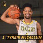Pirate Graduate Tyreik McCallum Earns All Region Honors