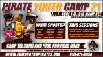 Pirate Athletic Youth Camps (Ages 8-14) Offered in June