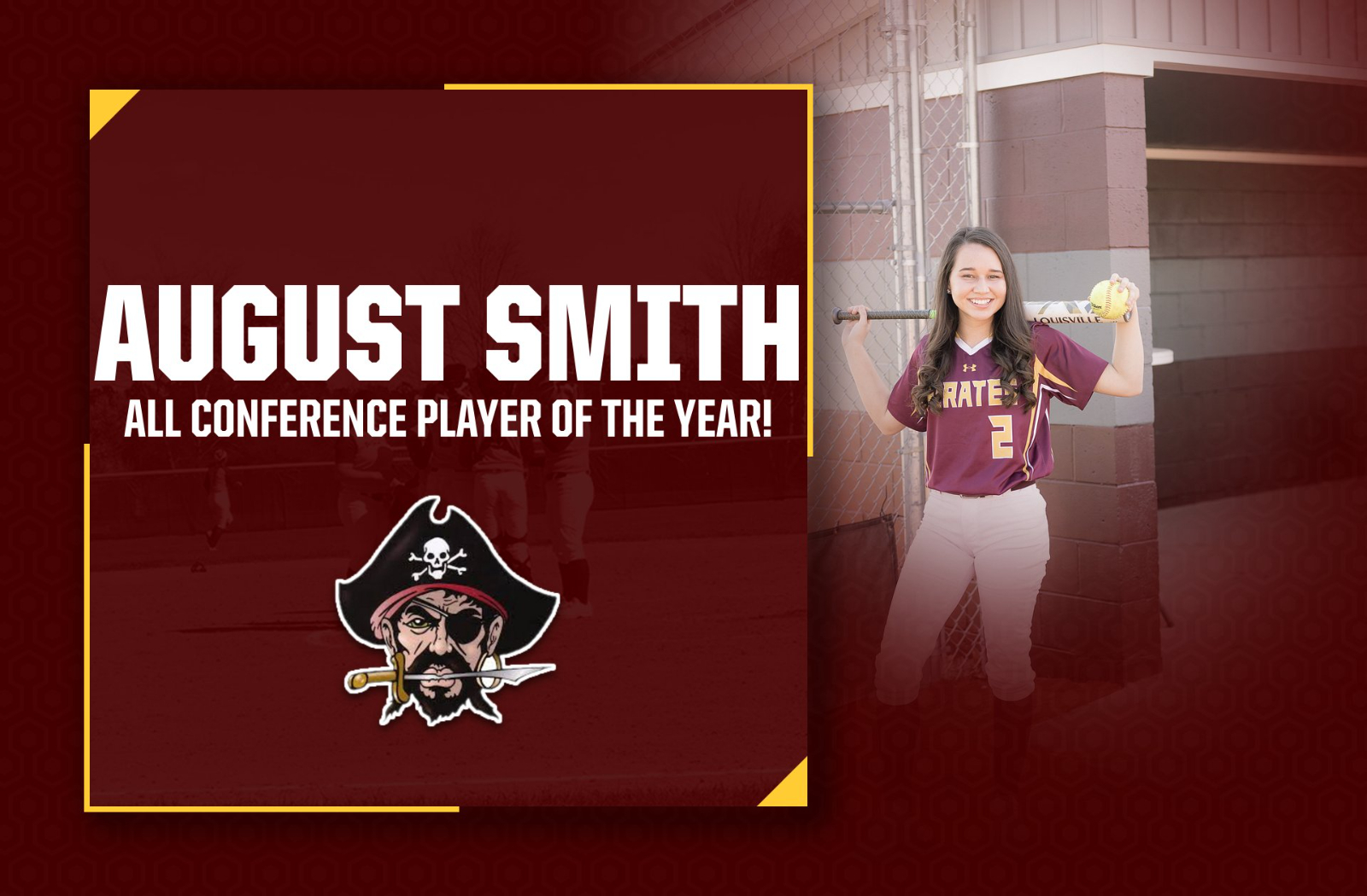 Smith Named Sandhills Athletic Conference Player of the Year