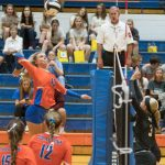 Volleyball: Lady Dragons Cruise Into Sectional Semis