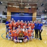 Volleyball: Creek Defeats Lady Braves for 4th time, Win Sectional Title
