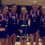 Cheer: Stunt Team Wins Share of State Title