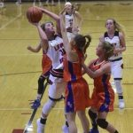 Girls Basketball: Lady Dragons Lose Conference Battle to Brownstown