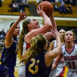 Girls Basketball: Lady Dragons Run Out of Steam in OT
