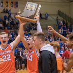 Boys Basketball: Dragons Stingy Defense Leads to Sectional Title