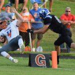 Boys Varsity Football falls to Charlestown 32 – 14