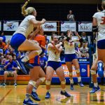 Volleyball: Lady Dragons Turn Up the Heat on Floyd