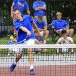 Boys Varsity Tennis finishes 1st place at New Albany Invitational
