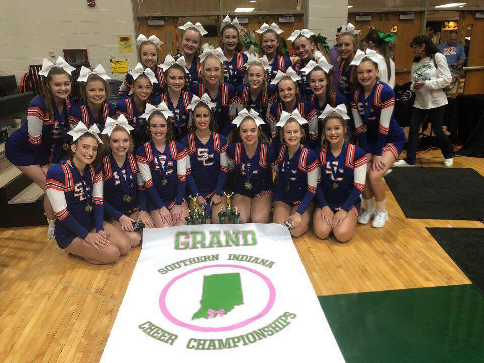 Cheer: Squad Brings Home Southern Indiana Competition Championship