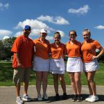 Girls Varsity Golf finishes 6th place at Sectional(@ Old Capital – Corydon)