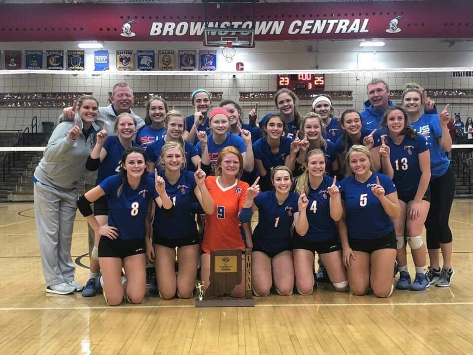 Volleyball: Lady Dragons Repeat as Sectional Champs