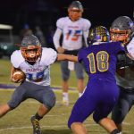 Football: Dragons Wrap-Up Warriors; Advance to Sectional Semi's
