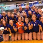 Volleyball: Lady Dragons Sweep Greensburg and Memorial to Win Regional
