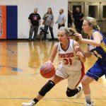 Girls Varsity Basketball beats New Washington 64 – 26
