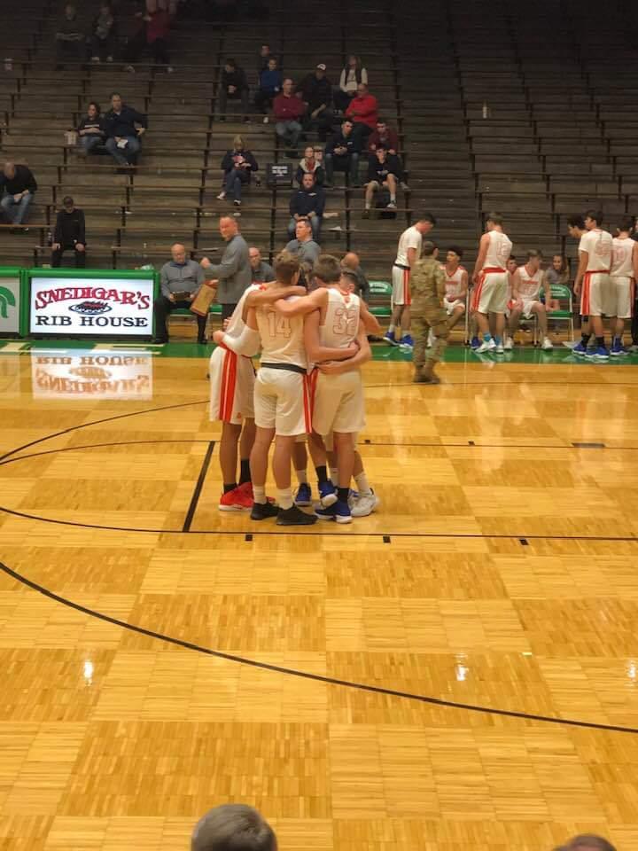 Boys Basketball: Creek Cruises to Challenge Cup Win